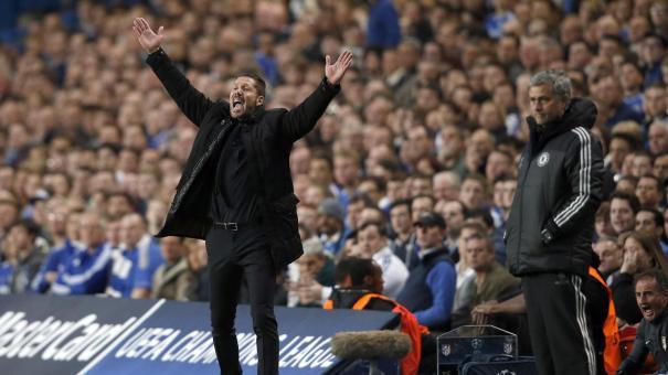 Diego Pablo Simeone y José Mourinho son dos ganadores natos postulados del lado de los resultadistas.